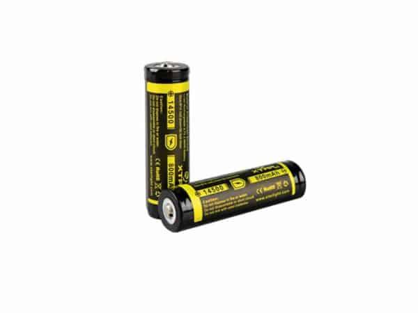 XTAR 14500 800mAh Battery 1