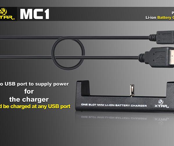 Xtar MC1 Single Bay Lithium-ion Battery Charger 5