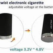 Ego C Twist 1100 mah Variable Voltage Battery 1