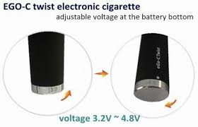 Ego C Twist 900 mah Variable Voltage Battery 1