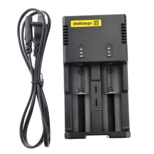 NiteCore i2 Battery Charger 18350 18650 3