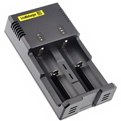 NiteCore i2 Battery Charger 18350 18650 2