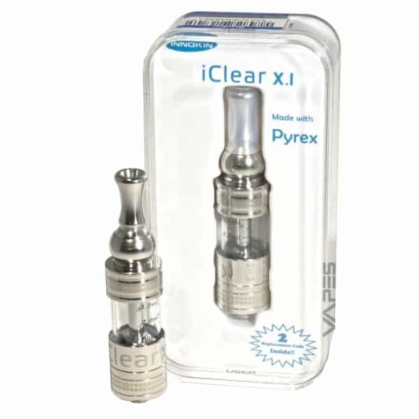 Innokin iClear XI Pyrex Glass Dual Bottom Coil Clearomizer 2