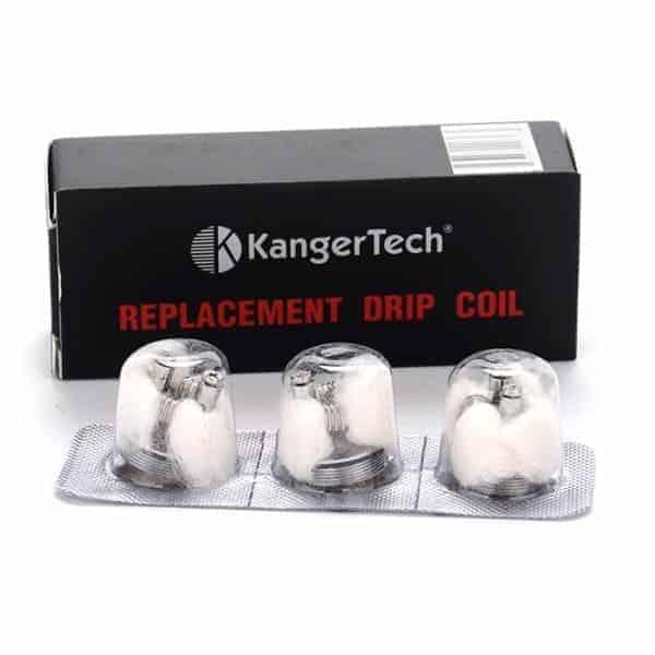 KANGER REPLACEMENT DRIPBOX COILS (3 PACK)
