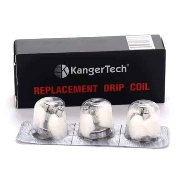 KANGER REPLACEMENT DRIPBOX COILS (3 PACK)