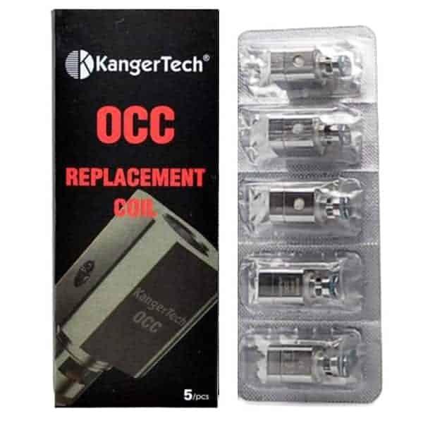 KANGER SUBTANK VERTICAL OCC COILS (5PACK)