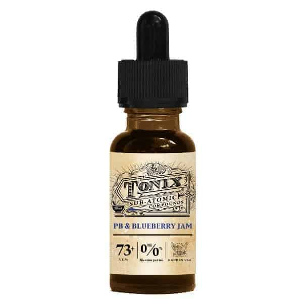Tonix - PB & Blueberry Jam E-liquid