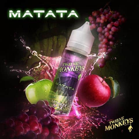 12 Monkeys - Matata E-liquid