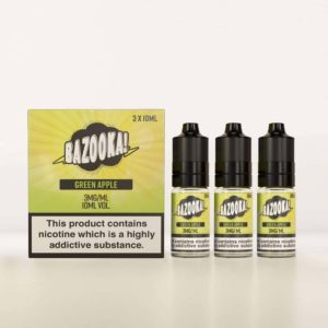 BAZOOKA – SOUR STRAWS E-LIQUID – GREEN APPLE