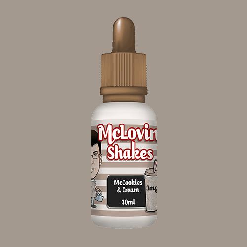 MCLOVIN SHAKES – MCCOOKIES & CREAM MILKSHAKE