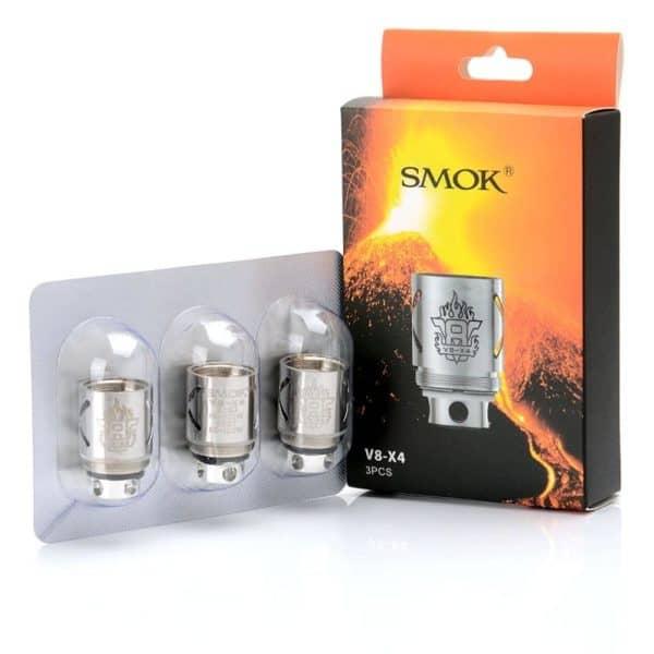 SMOK TFV8 V8-X4 0.15 ATOMIZER COILS (3 PACK)