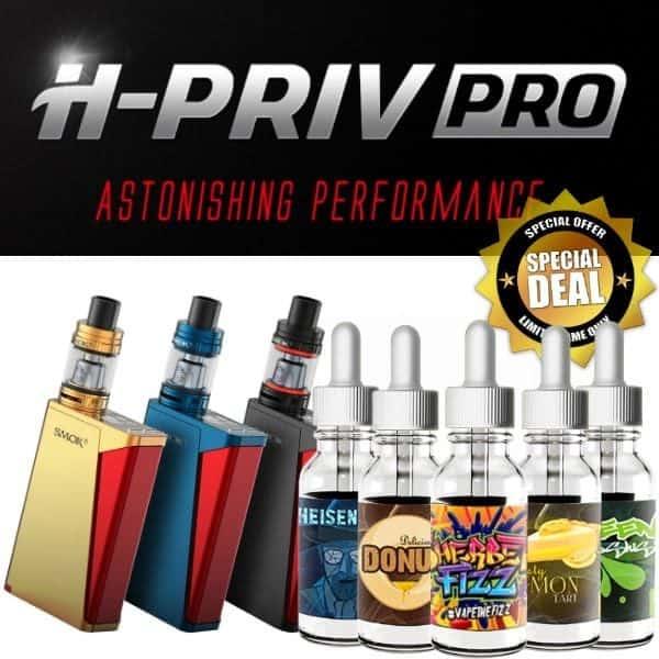 SMOK H-Priv Pro 220w Kit Juice Bundle