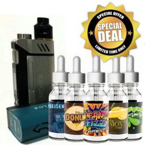 iJoy RDTA Box with Juice Bundle