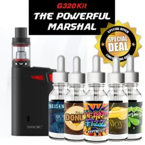 SMOK Marshal G320 Kit Juice Bundle