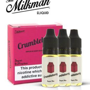 The Milkman - Crumbleberry 3 X 10ML