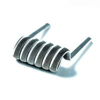 Framed Staple Coils (Pair) - Handmade