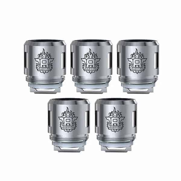 SMOK TFV8 Baby Beast Tank V8 Baby-T6 Replacement Coils (5-Pack)