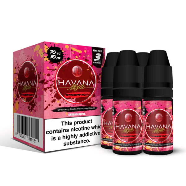 Havana Mojito - Strawberry E-liquid