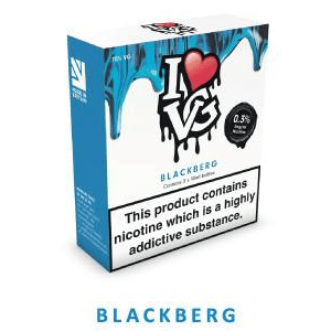 Blackberg - I Love VG - 3 x 10ml