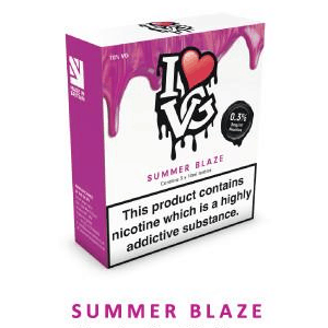 Summer Blaze - I Love VG - 3 x 10ml