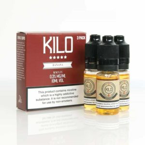 Kilo Banana Milk E-liquid 3 x 10ML