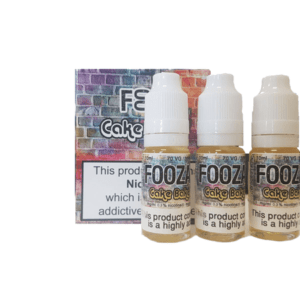 Fooza - Cake Bake 3 X 10ml