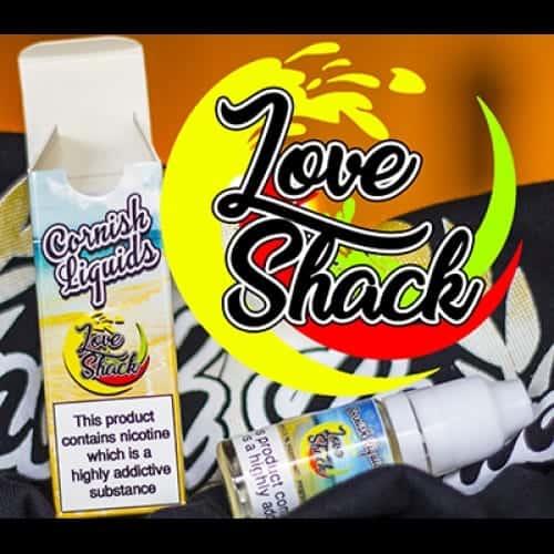 Love Shack - By Cornish Liquids 3 X 10ML