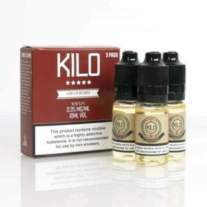 Kilo Strawberry Milk E-liquid 3 x 10ML