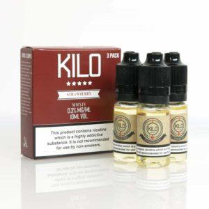 Kilo Strawberry Milk E-liquid 3 x 10ML