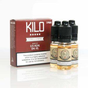 Kilo Vanilla Almond Milk E-liquid 3 x 10ML