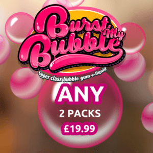 Any 2 Mix and Match Burst My Bubble E-liquid
