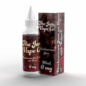 BLACKCURRANT JAM BY THE JAM VAPE CO.