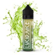Lucid Juice green slush mockup