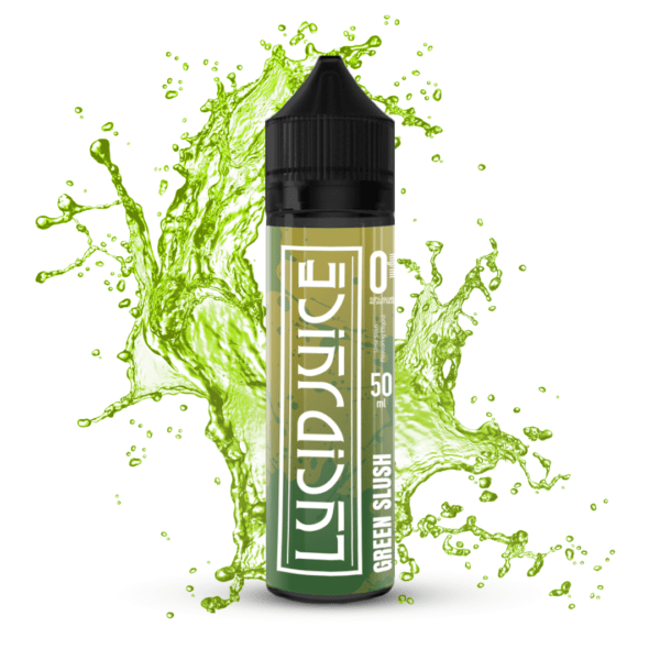 Lucid Juice green slush mockup