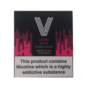 CHERRY BERRY BUBBLEGUM BY VAPERIZZO  – 3 X 10ML