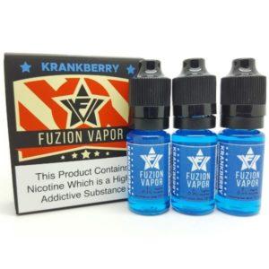 KRANKBERRY - Fuzion Vapor 3 X 10ML