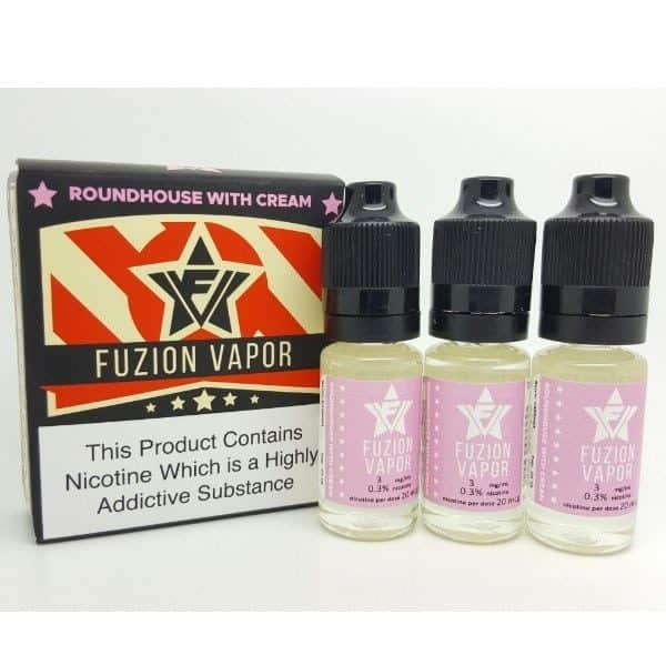 ROUNDHOUSE WITH CREAM - Fuzion Vapor