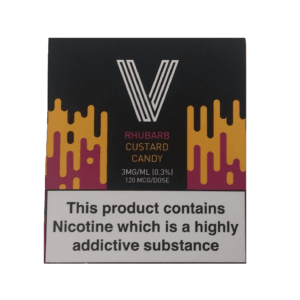 RHUBARB CUSTARD CANDY BY VAPERIZZO – 3 X 10ML