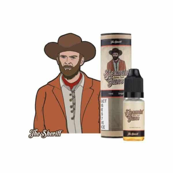 Steamin Guns The Sheriff E-Liquid