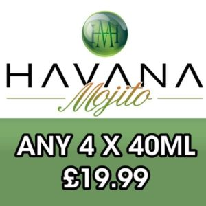 Any 4 Mix and Match H.M E-liquid