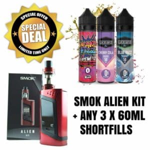 SMOK Alien Kit with Juice Bundle