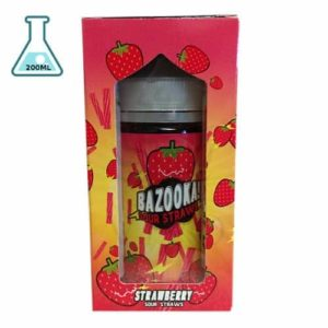 Bazooka - Sour Straws E-liquid - Strawberry 200ML