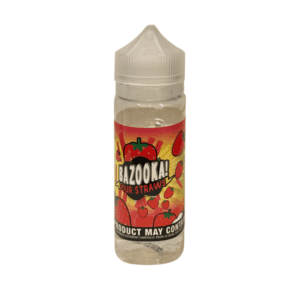 Bazooka - Sour Straws E-liquid - Strawberry 100ML