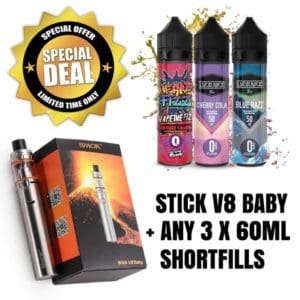 SMOK STICK V8 BABY KIT - Juice Bundle