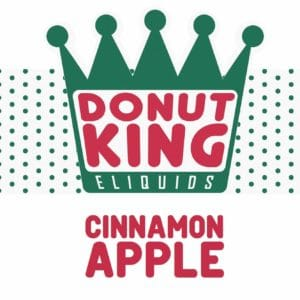 DONUT KING - CINNAMON APPLE