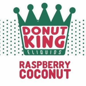 DONUT KING - RASPBERRY COCONUT