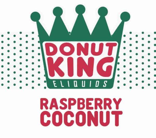 DONUT KING - RASPBERRY COCONUT