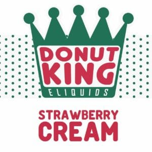 DONUT KING - STRAWBERRY CREAM