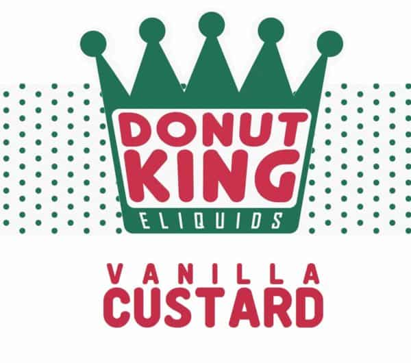 DONUT KING - VANILLA CUSTARD