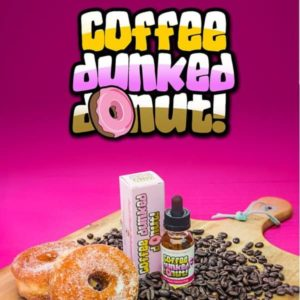 Coffee Dunked Donut E-Liquid by Bear State Vapor